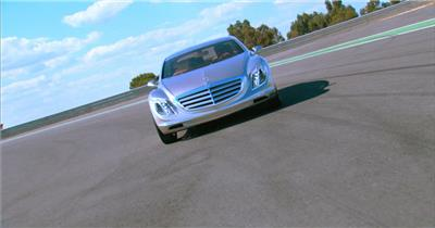 0305-汽车快速行驶一组3-沙漠中国实拍视频素材 视频下载中国实拍