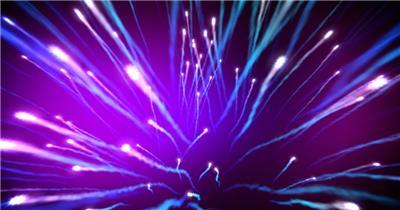 明亮的光纤 舞台灯光秀 酒吧视频
