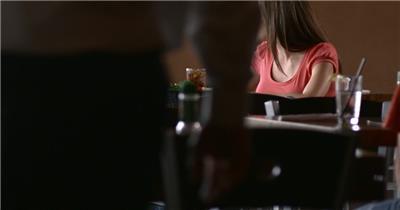 喝咖啡001034VTXHD中国实拍视频素材 视频下载中国实拍