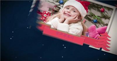 ED圣诞节片头 EDIUS模板 圣诞节 EDIUS素材 节日模版