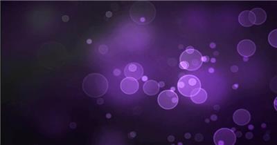 粒子动画视频素材a009.-泡泡紫