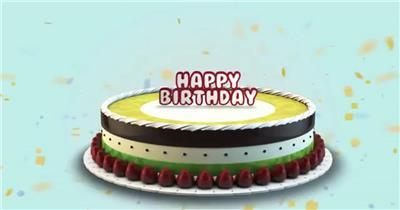 AE:儿童类生日快乐标题模板 AE文件 ae素材免费下载14