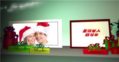 ED圣诞主题卡通相册 EDIUS模板 圣诞节 EDIUS素材 节日模版