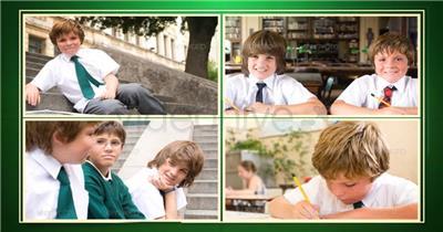 AE:儿童成长记录相册模板 AE脚本15 相片照片 ae素材 幻灯片