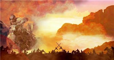 YM3026(有音乐) 古代战争系列 视频动态背景 虚拟背景视频