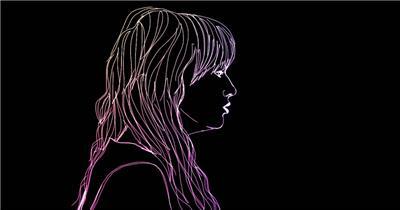 光线条乐队男唱MV酒吧娱乐夜场素材 酒吧视频 dj舞曲 夜店视频
