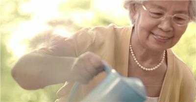 老人老年人31 人物视频 人物实拍