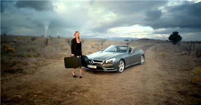 Mercedes SL 2012 汽车广告.1080p 欧美高清广告视频