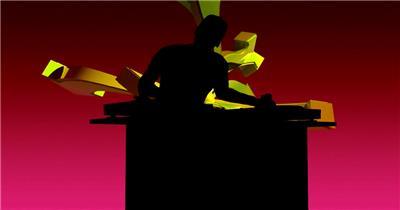 dj打碟酒吧娱乐夜场素材 酒吧视频 dj舞曲 夜店视频