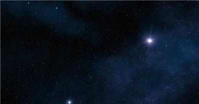 超炫星空粒子银河流星动态素材018 视频背景