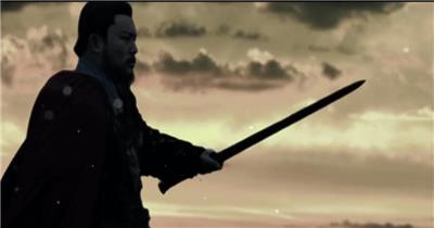 -古代战争系列款Y5460战国古代战争将军士兵攻城 led视频素材库