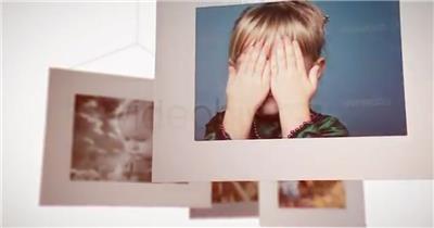AE:AE白色边框相册展示 ae素材下载17 相片照片 ae素材 幻灯片
