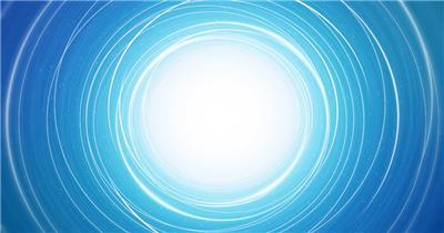 迷幻空间炫光空洞线条旋转飘浮粒子视频素材