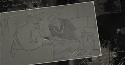 AE:9246 悲伤回忆纪录片时间线介绍片头 ae素材模板下载 ae素材免费下载