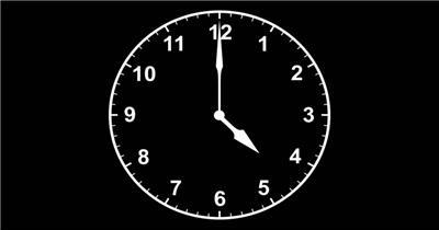 -怀旧时间时钟款酷豆旗舰店怀旧时间024 led视频素材库