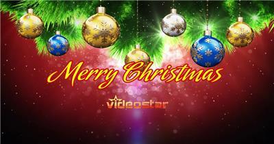 ED圣诞飞舞文字 EDIUS模板 圣诞节 EDIUS素材 节日模版