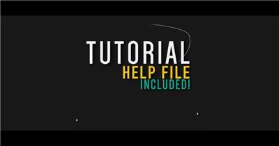 AE:文字特效排版模板 ae特效素材下载(1)15 文字动画视频ae模板