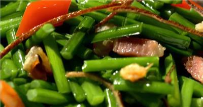 饭店酒楼吃饭聚餐美食火锅高清视频素材餐饮厨师食物厨房美食23