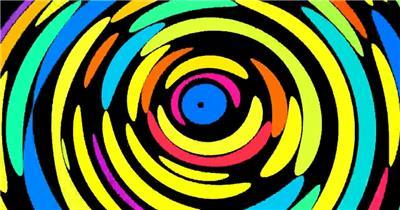 动感炫酷 卡通斑点炫酷视频背景 酒吧视频 dj舞曲 夜店视频