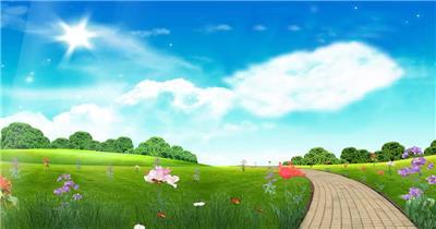 A032-大自然风景春的气息花瓣视频(含音乐)春节 新年 新春佳节 过年