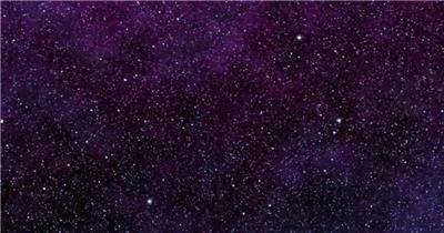 超炫星空粒子银河流星动态素材007 视频背景