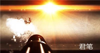 PR:LOGO片头 pr片头 LG-18 战狼电影打墙片头 pr素材 pr模版  adobe Premiere素材 premiere视频模板 premiere模板
