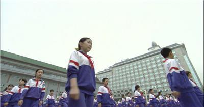 0269-小学生集体操教育 知识 学习 教室
