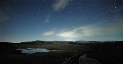 双子座流星雨2010延时摄影拍摄视频