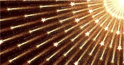 D98-金色霓虹节奏动感变换闪烁放射 (7) 颁奖开场年会