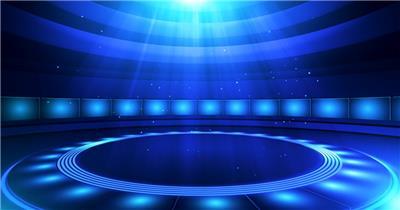 YM2273旋转圆形灯光秀舞台 颁奖开场年会
