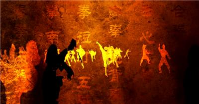 YM3913中华武术视频 武术太极八卦 中国风视频 背景视频