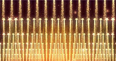 D98-金色霓虹节奏动感变换闪烁放射 (4) 颁奖开场年会