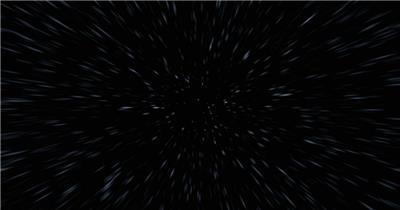 超炫星空粒子银河流星动态素材015 视频背景