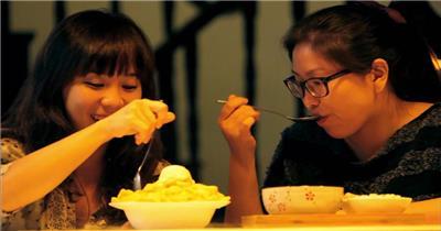 饭店酒楼吃饭聚餐美食火锅高清视频素材餐饮厨师食物厨房美食18