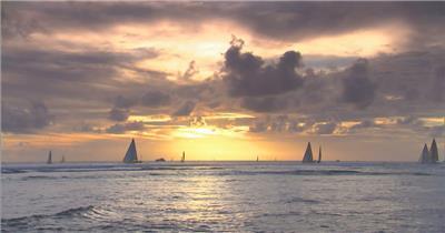 海上帆船1大海 海边 海洋