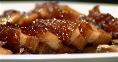 饭店酒楼吃饭聚餐美食火锅高清视频素材餐饮厨师食物厨房美食19