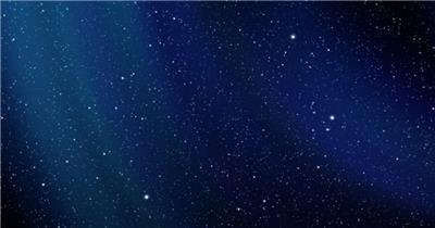 超炫星空粒子银河流星动态素材005 视频背景
