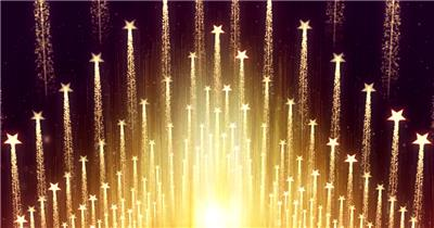 D98-金色霓虹节奏动感变换闪烁放射 (3) 颁奖开场年会