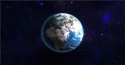 震撼星空宇宙地球穿梭片头