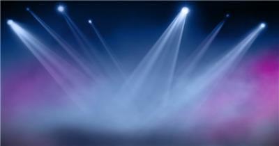 舞台灯光聚光灯光效光线唯美 动态超炫素材 动感背景 动态背景-