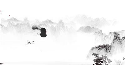 中国风标题AE模板