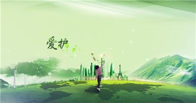 爱护环境和谐发展环保宣传标语片头