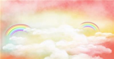 D217-16 彩虹 太阳公公卡通素材