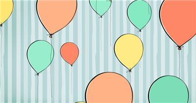 D215-13 卡通气球