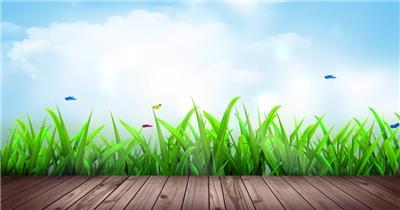 D228-5 卡通风景 植物