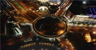 城市建筑车流人流素材3