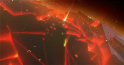 大气星球火焰开场 led