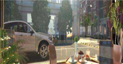 三维地产动画商务商业科技素材地产动画三维建筑建筑动画地产商业圈配套设施玻璃幕墙办公大楼办公环境cbd商业中心城市中心大厦商厦商务大楼
