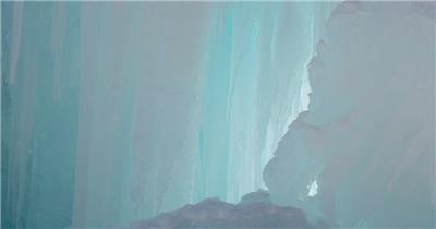 [4K] 天然的冰冻 4K片源 超高清实拍视频素材 自然风景山水花草树木瀑布超清素材
