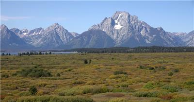 [4K] 山脉远景 4K片源 超高清实拍视频素材 自然风景山水花草树木瀑布超清素材